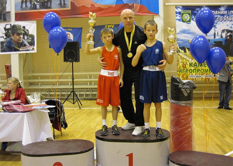 Попечительство талантливых юных боксеров