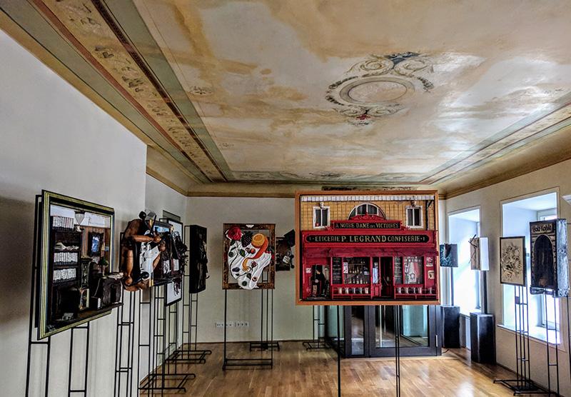Создание галереи искусств