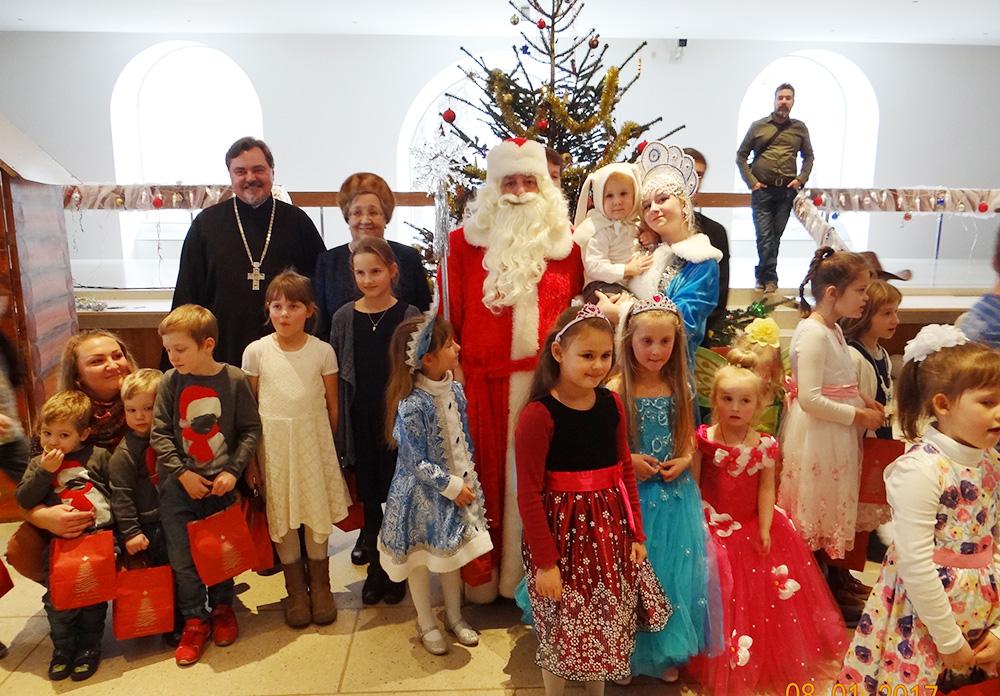 Рождественская ёлка в Русской-Православной Церкви в городе Ульме