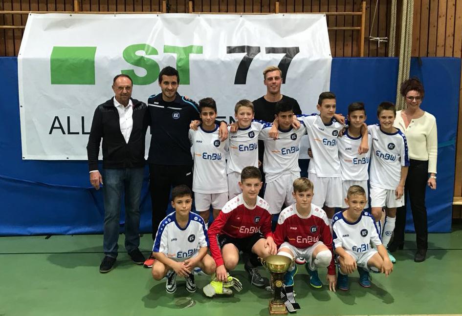 Участники турнира по футболу ST77 ALLERHEILINGEN CUP