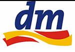 Логотип dm
